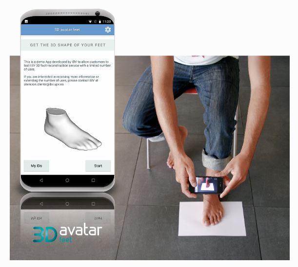 3D avatar feet figura 00