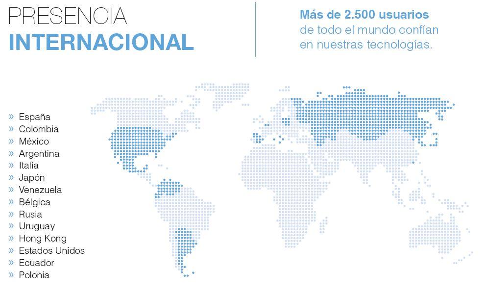 COLOMBIA presencia internacional