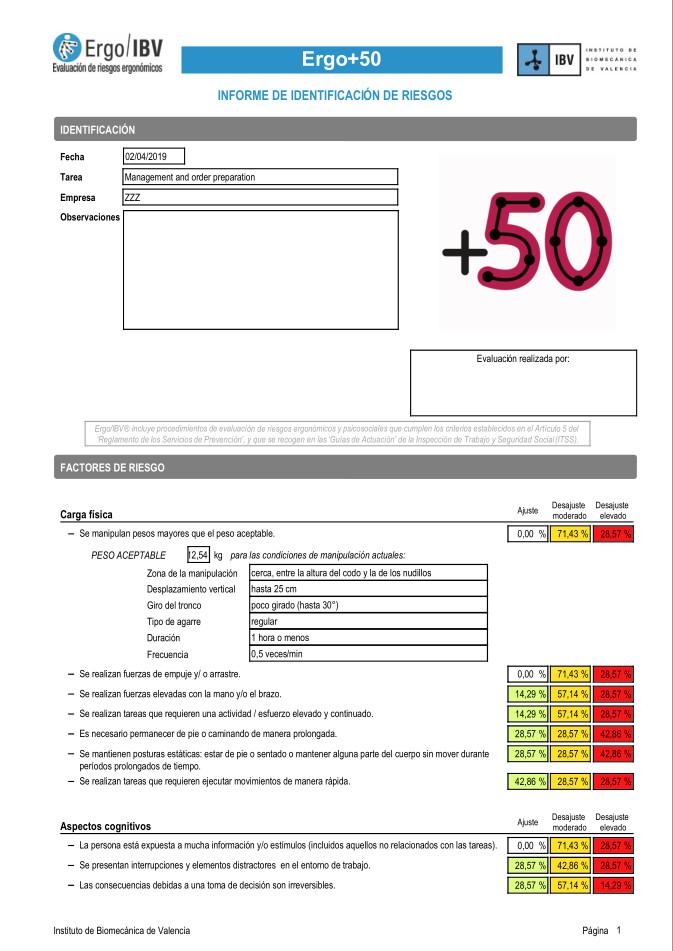 Alt Ergo50 Informe
