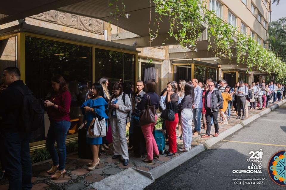 Gran afluencia al Congreso de Medellin