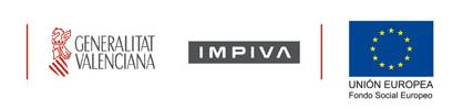 Logos de IMPIVA y Fondo Social Europeo