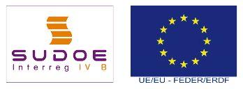 SUDOE FEDER logos