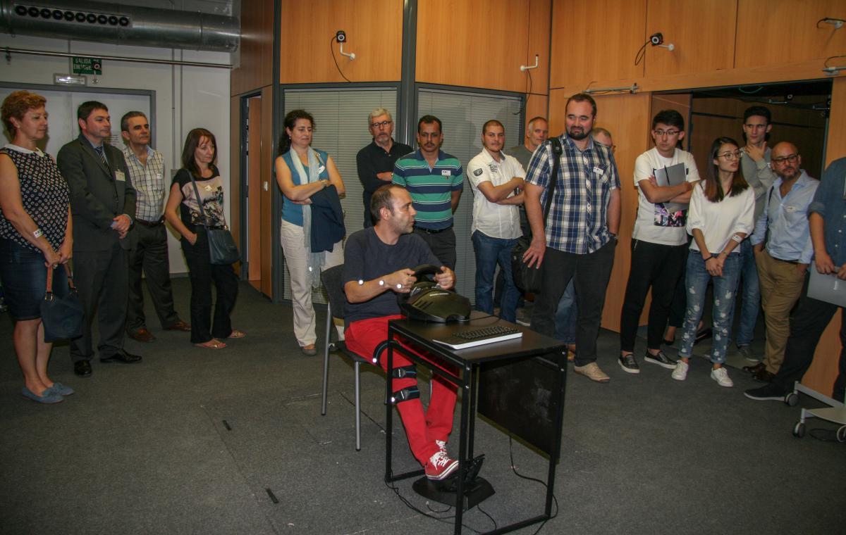 Instituto de biomec nica faurecia interior systems visita el instituto de biomec nica - Faurecia interior systems ...